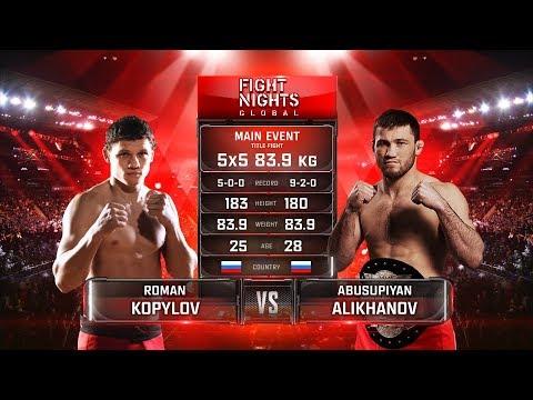Roman Kopylov vs