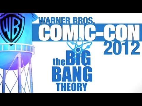 Big Bang Theory Panel - Comic-Con 2012