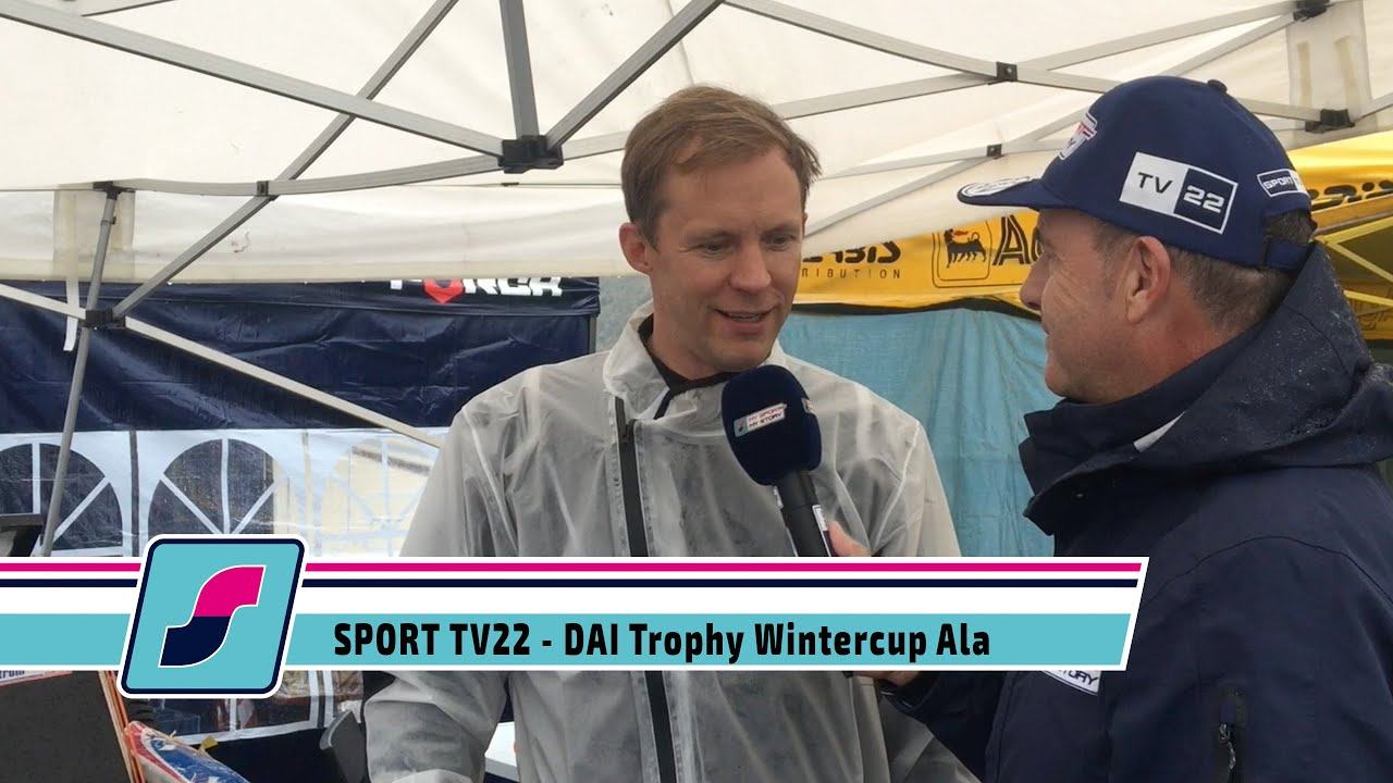 DAI Trophy Wintercup in Ala mit DTM Champion Mattias Ekström