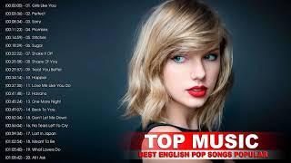 Maroon 5, Taylor Swift, Ed Sheeran, Adele, Shawn Mendes, Charlie Puth, Sam Smith