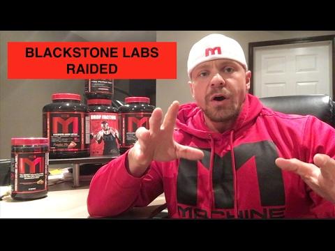 Blackstone Labs Raided!