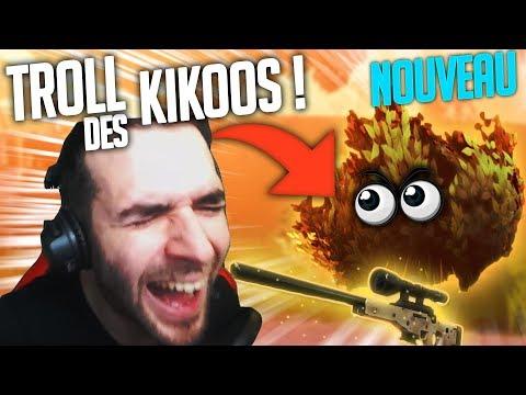 "L' ULTIME TROLL DU BUISSON AVEC DES ""KIKOOS"" ! (Fortnite FR Battle Royale)"