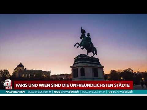 Paris und Wien sind die unfreundlichsten | A NEWS DEUTSCH