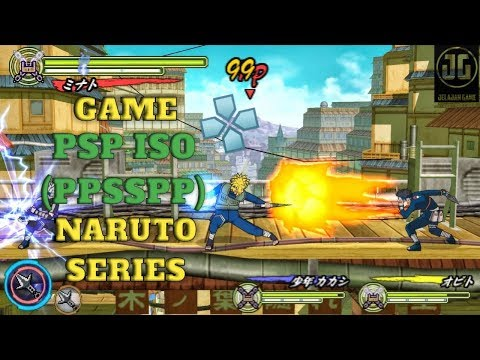 8 Game PSP Iso Naruto Series Terbaik | For Android