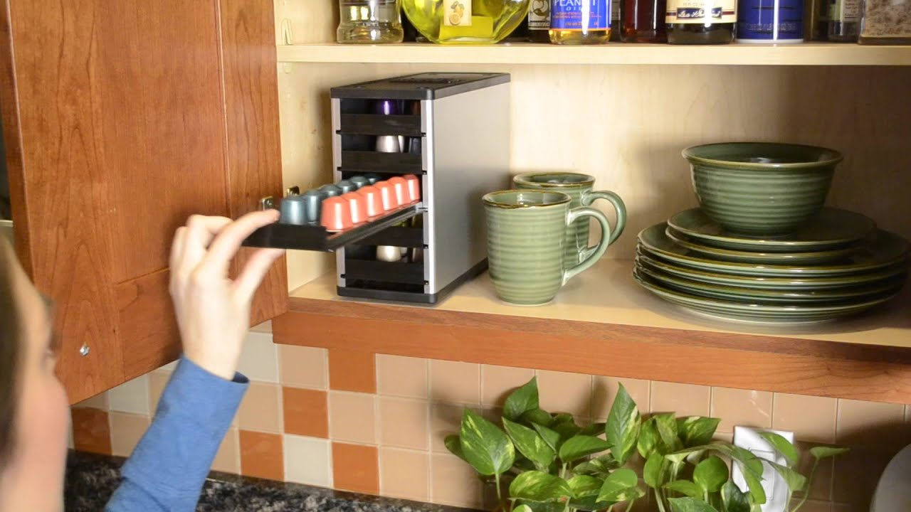 Molto PORTA CAPSULE CAFFÈ NESPRESSO - YouTube HU32