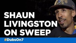 VIDEO: Warriors' Livingston talks NBA Finals sweep