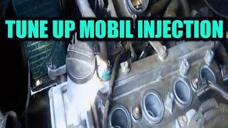 Cara tune up mobil/servis mesin EFI Rush/Terios. how to service car , maintenance car. car care