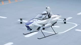 SkyDrive Piloted Flight Demo