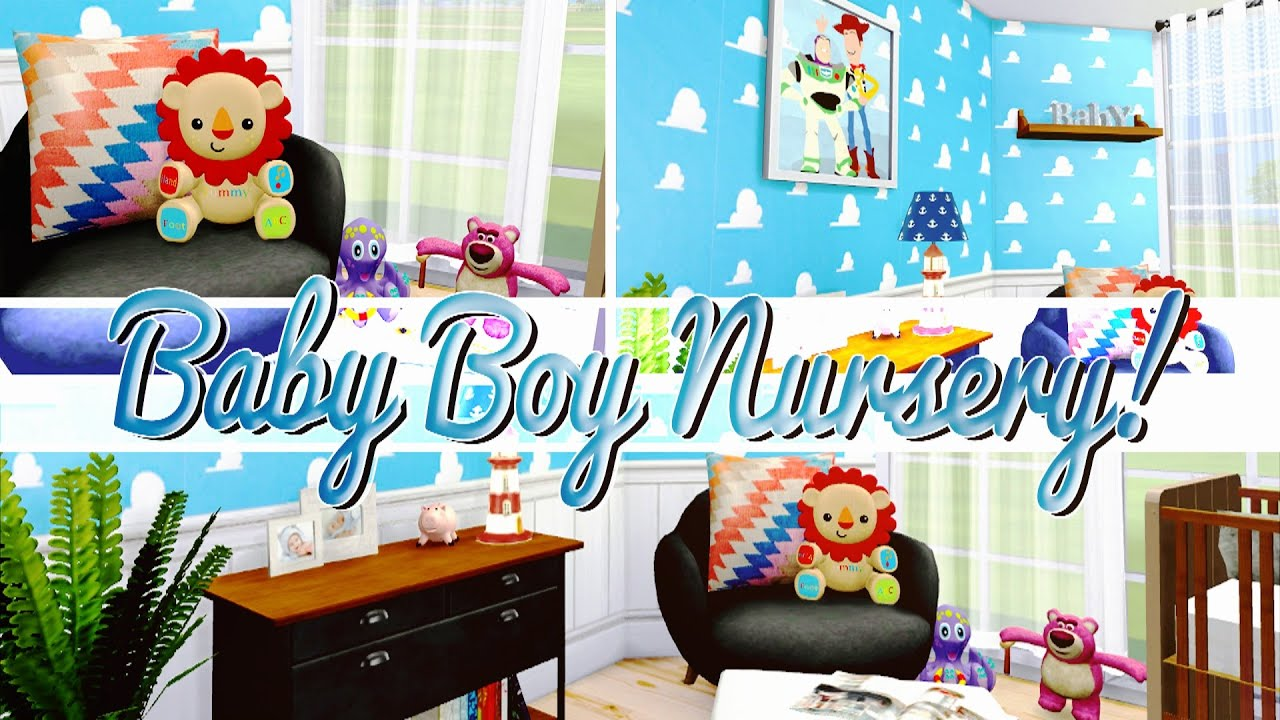 The Sims 4 Baby Boy Nursery 🍼 Youtube