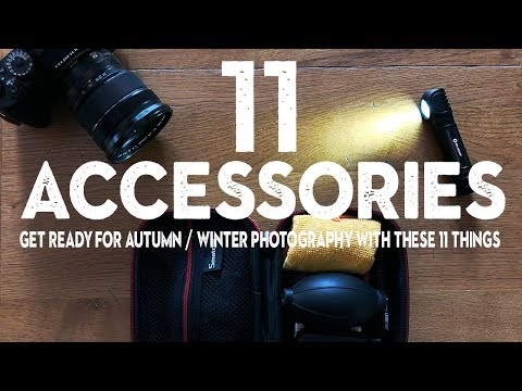 11 CHEAP PHOTOGRAPHY Accessories For AUTUMN / WINTER I Take EVERYWHERE
