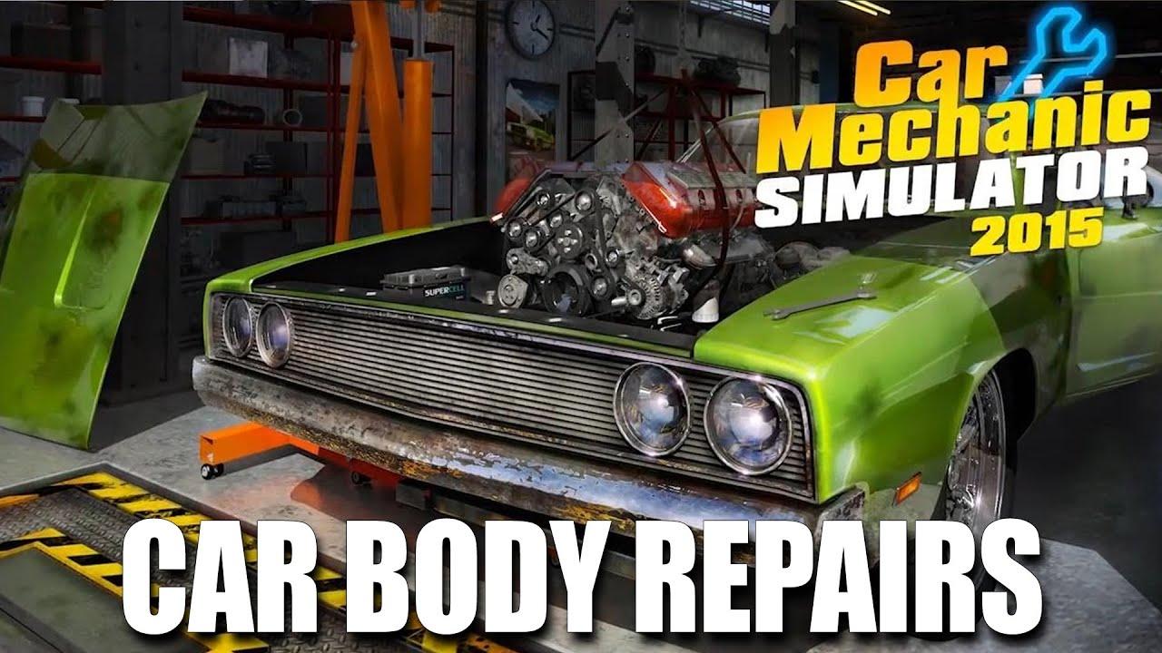 Winner announcement car body repairs car mechanic s for Car paint simulator