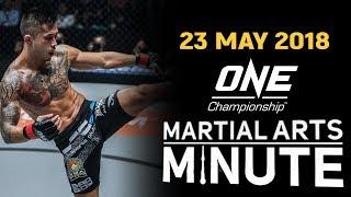Martial Arts Minute   23 May 2018