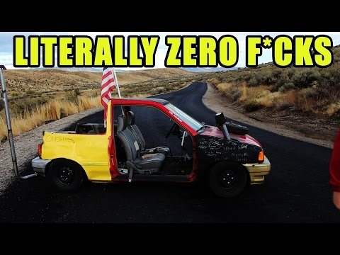 ZERO F*CKS GIVEN FORD FESTIVA!! (THE STEVE)