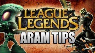 HELPFUL ARAM TIPS! (League Of Legends)