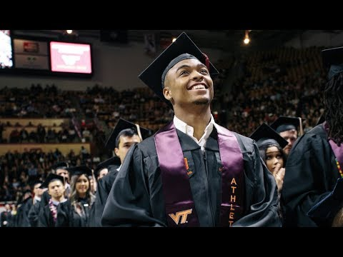 Live: Virginia Tech Spring 2018 Graduate School Commencement