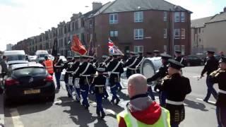 Glasgow Orange Defenders Flute Band March, 18th April 2015.