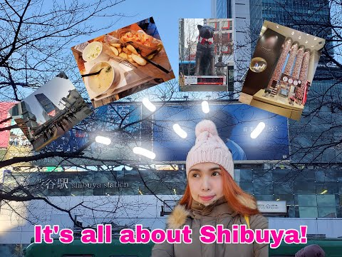 HACHIKO Statue,Famous Shibuya Crossing And More! #Vlog3