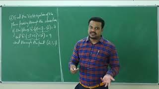 II PUC | Mathematics | 3- Dimensional Geometry- 09
