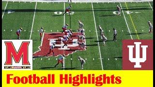 Maryland Vs Indiana Football Game Highlights 11 28 2020