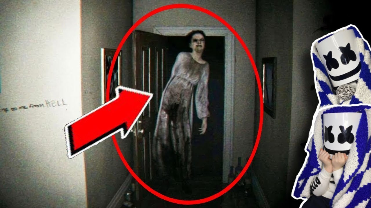 THERE WAS SOMEONE IN HER BASEMENT.. [scary videos]