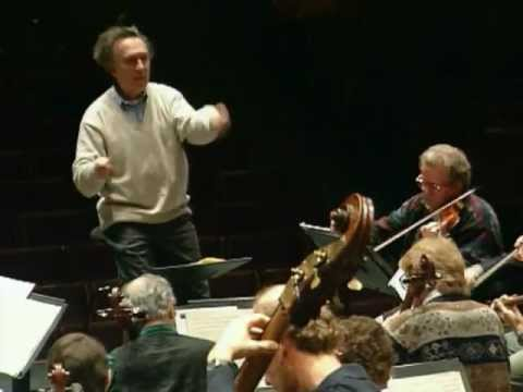 Claudio Abbado in rehearsal with the Berliner Philharmoniker