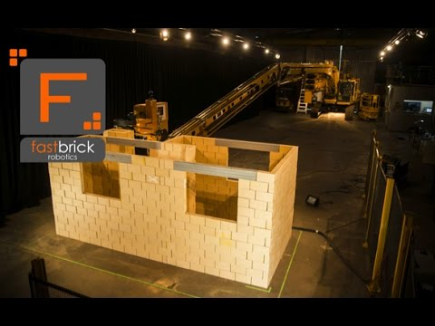 This home-building robot can lay more than 1,000 bricks an hour — and construct a home quicker than a human
