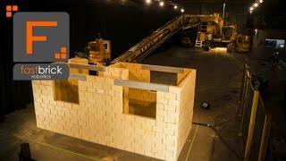 Fastbrick Robotics: Hadrian 105 Time Lapse