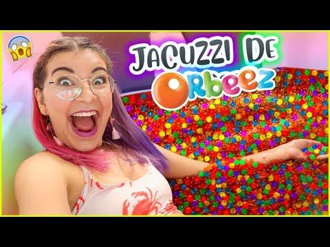 ¡3 MILLONES DE ORBEEZ EN EL JACUZZI! RETO: Baño de BOLITAS 😱