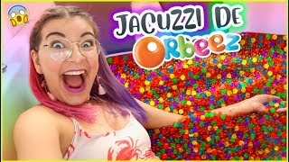 3 MILLION ORBEEZ IN THE JACUZZI! CHALLENGE 😱