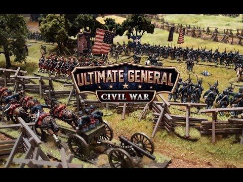 Ultimate General Civil War - Thoroughfare Gap - Legendary Union Campaign
