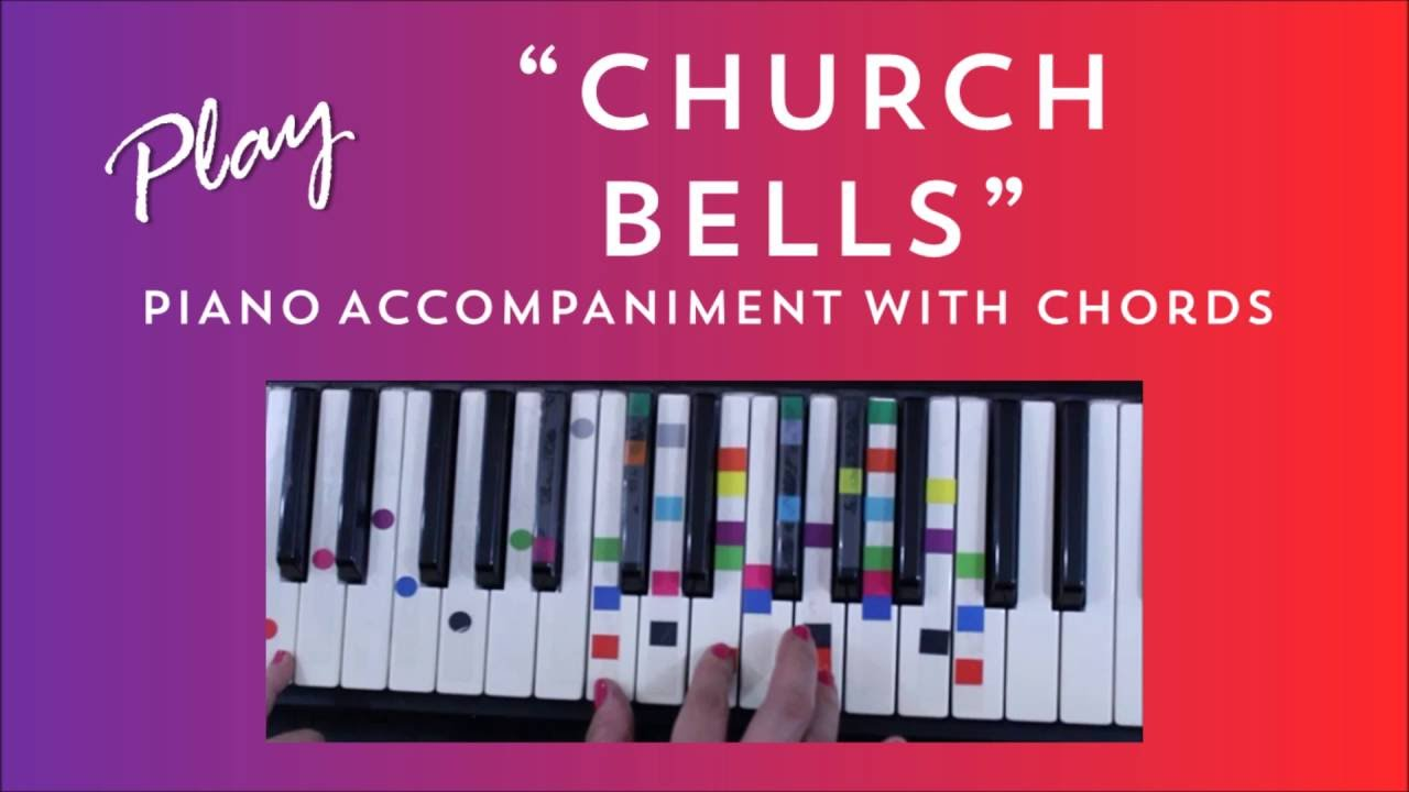 Church bells easy piano tutorial carrie underwood youtube hexwebz Image collections