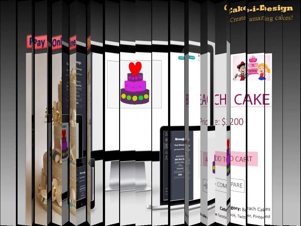 Cake I Design Online Cake Designing Tool Youtube