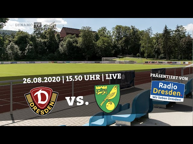 Re-LIVE: SG Dynamo Dresden vs. Norwich City