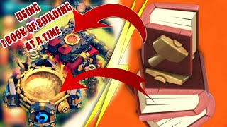 PERFECT TIME OF USING BOOKS OF BUILDING || CLASH OF CLANS