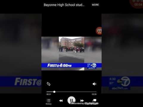 Bayonne high school protesting