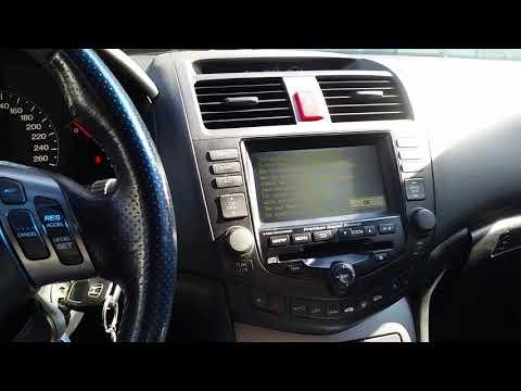 Honda Accord Cl 7- Cl 9 Замена передней и правой подушек двигателя и многое другое .