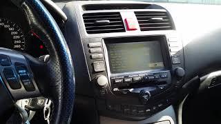 Honda Accord Cl 7  Cl 9 Замена передней и правой подушек двигателя и многое другое .