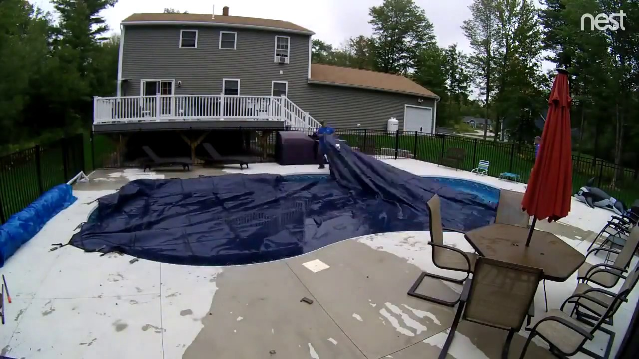 Swimming Pool Closing Service : Premier pool service winterizing closing an inground