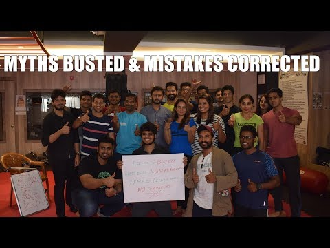 My Fitness Seminar at Zuese Fitness (Workout mistakes and Myths)