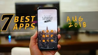Top 7 Best Free Android Apps - Aug 2018