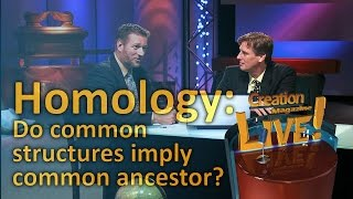 Homology -- do common structures imply common ancestor? (Creation Magazine LIVE! 3-24) by CMIcreationstation