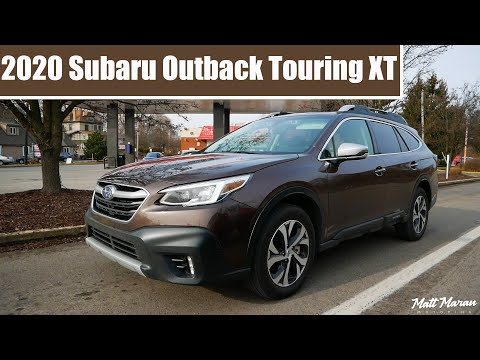 2020 Subaru Outback Touring XT Driving Review