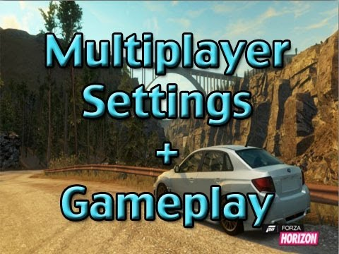 forza horizon multiplayer settings gameplay slaptrain youtube. Black Bedroom Furniture Sets. Home Design Ideas