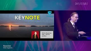 [Disobey 2020] Keynote, Friday - Mikko Hyppönen
