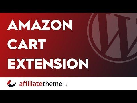 (S02E09.12) Amazon Cart Extension 🔥 Affiliatetheme.io
