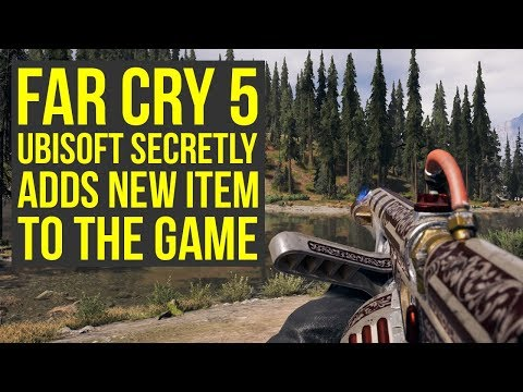 Far Cry 5 News - Ubisoft SECRETLY ADDS NEW ITEM To Shop & Update on Vector (Far Cry 5 Weapons)
