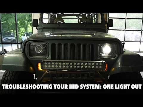 Hid Troubleshooting When One Of Your Headlights Is Out Youtube