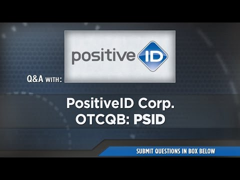 PositiveID Corporation Presentation at RedChip's Jan 2017 Conference