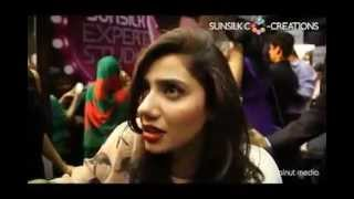 Mahira  khan sunsilk co creations