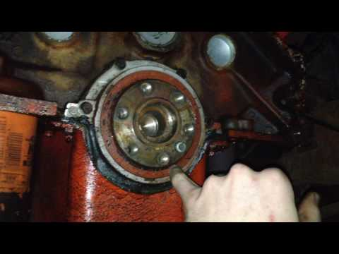 Small Block Chevy Flywheel Install - YouTube